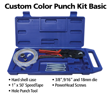 custom color punch kit
