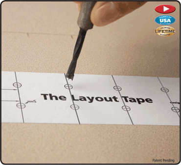 Layout Tape 60' Roll