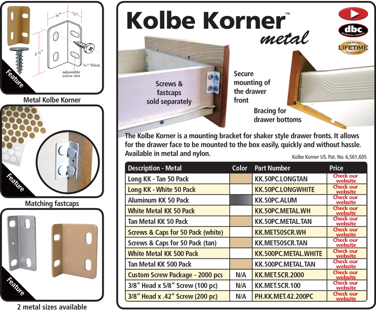 Koble Korners Metal