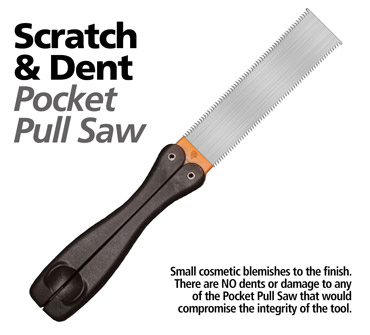 Scratch & Dent Pocket Pull Saw