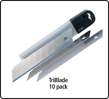 TriBlade Replacement Blades (10 Pack)