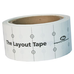 Layout Tape from FastCap
